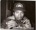 mj eating - michael-jackson photo