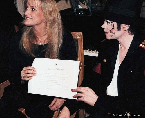 mj wedding..Debbie