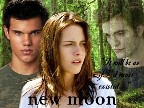 new moon poster da kissthespider26