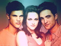 twilight cast kertas dinding