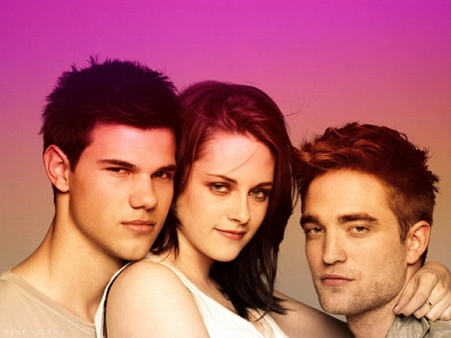 Twilight la saga wallpaper with a portrait called twilight cast wallpaper
