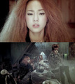 2NE1 teaser bức ảnh for 'It Hurts'