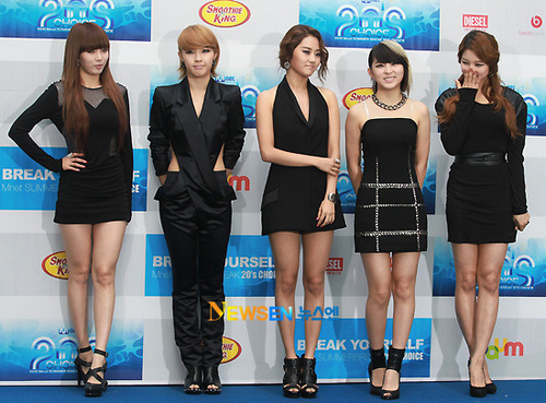 4Minute at MNET 20′s Choice