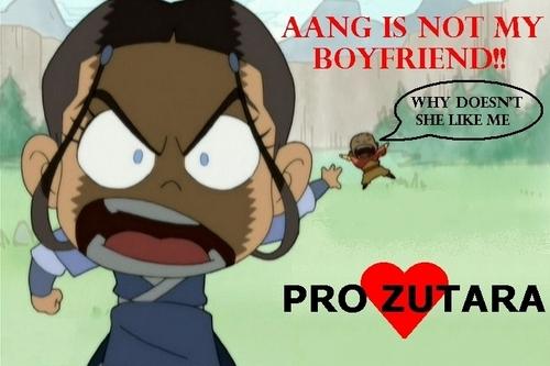 AANG IS NOT MY BOYFRIEND!!!!!!!
