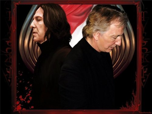 Alan & Severus - alan-rickman Photo