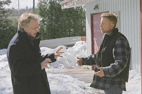 Alan as Alex in Snow Cake :*