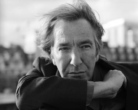 Alan Rickman karatasi la kupamba ukuta probably containing a business suit called Alan photoshoot :*