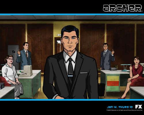 Archer پیپر وال