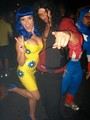 Austin and Sophia in their Halloween Costumes