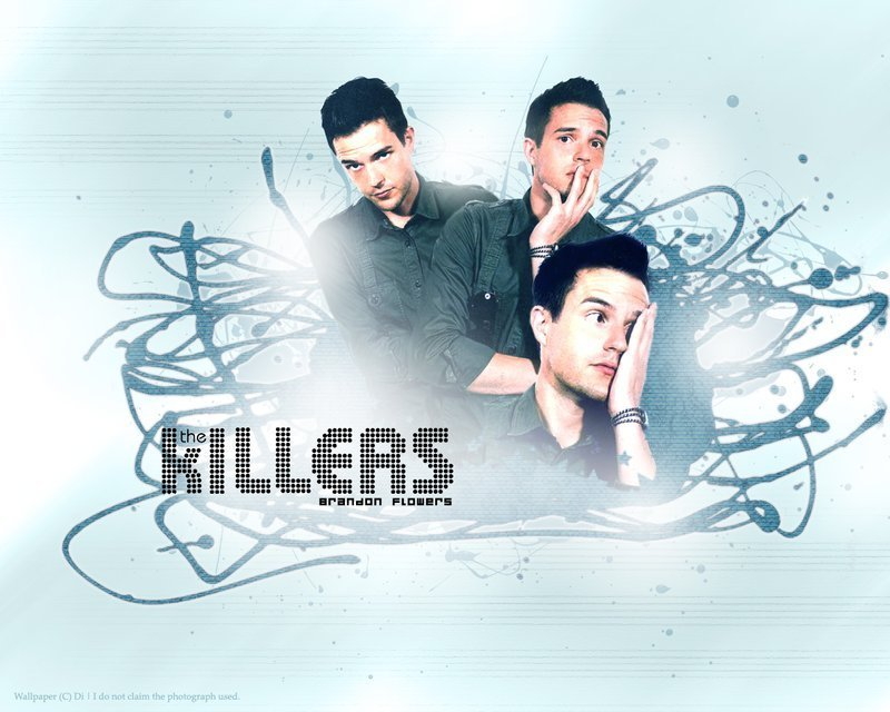 the killers wallpaper. BRANDOOOOOOOON - The Killers