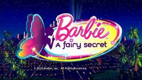 Barbie A Fairy Secret LOGO