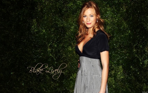 Blake Lively wallpaper probably containing a sundress, a cocktail dress, and a frock titled Blake <3