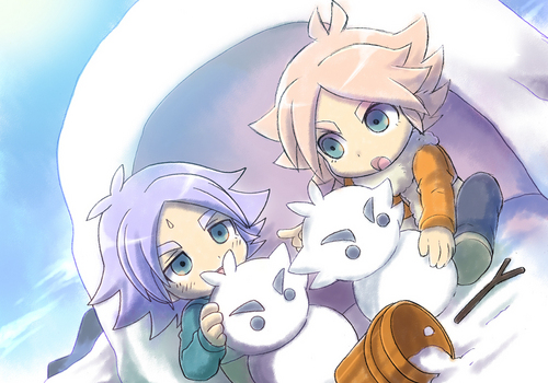 Shirō Fubuki/Shawn Frost wallpaper probably with anime titled Brothers