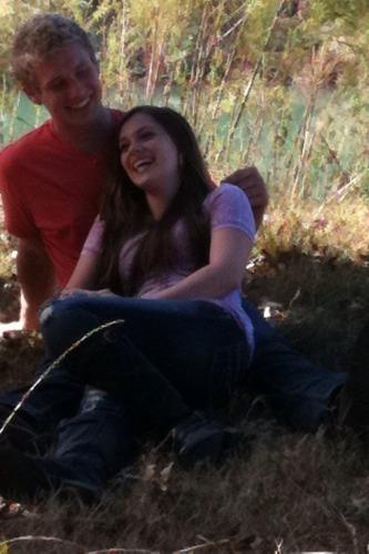 Caitlin & Her Boyfriend<3333