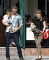 Cam Gigandet and his family 25/10/10 - cam-gigandet photo