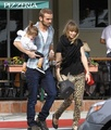 Cam Gigandet and his family 25/10/10