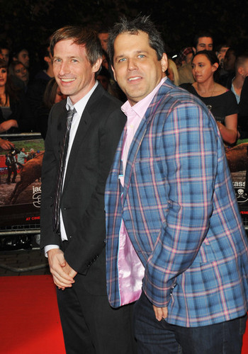 Spike Jonze & Jeff Tremaine @ the Londres Premiere of 'Jackass 3D'