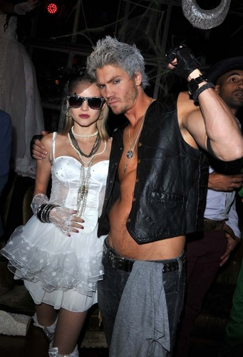 Chad  Michael MurrayAt Matthew Morrison's Halloween Party