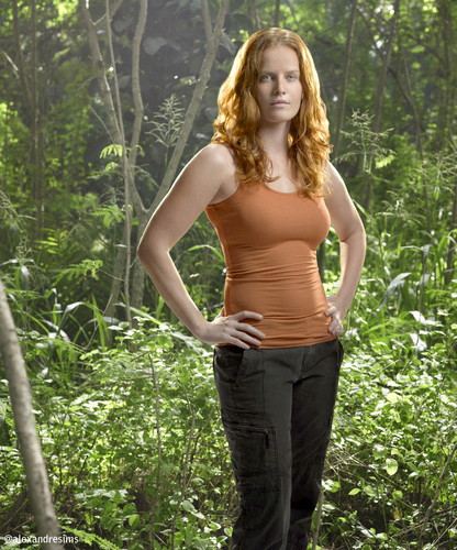 lost wallpaper entitled charlotte in Jungle / promotional
