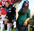 Chicharito girlfriend chaska borek