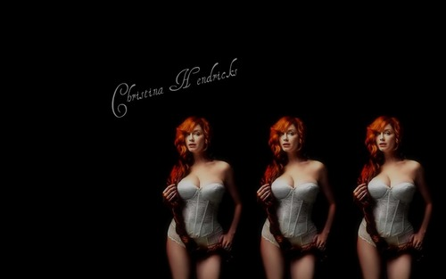 Christina Hendricks wallpaper probably containing a concert titled Christina Hendricks