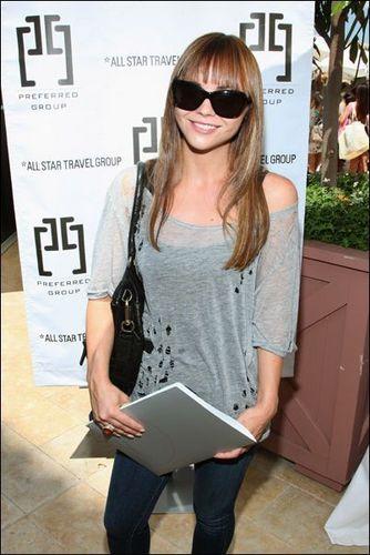 Christina @ Kari Feinstein Primetime Emmy Awards Style Lounge