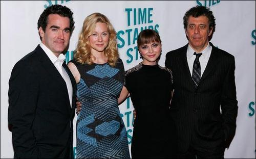 "Christina @ ""Time Stands Still"" Broadway Opening Night"