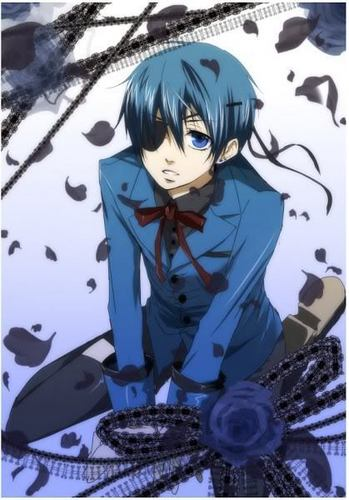 Ciel Phantomhive Hintergrund probably with Anime titled Ciel Phantomhive