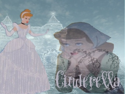 Disney Princess wallpaper possibly containing a mantilla, a polonaise, and a kirtle called Cinderella
