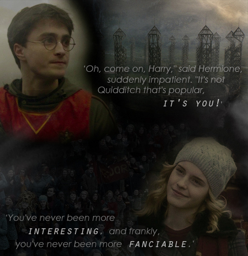 DH harry and hermione