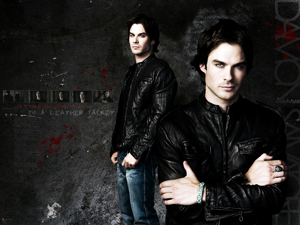 Vampire Diaries – Fernsehserie Hintergrund possibly containing a well dressed person, a box coat,