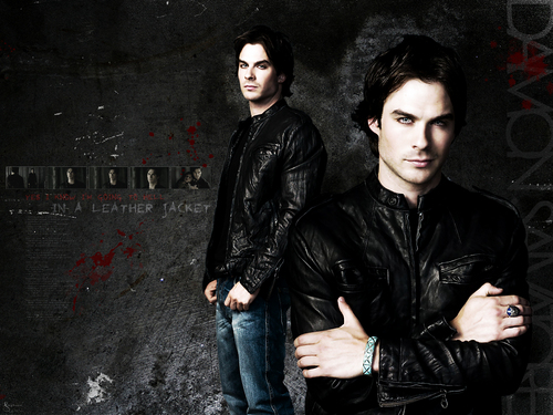 Damon Salvatore پیپر وال