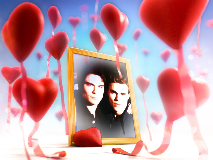 vampire diaries damon and stefan. Damon amp; Stefan