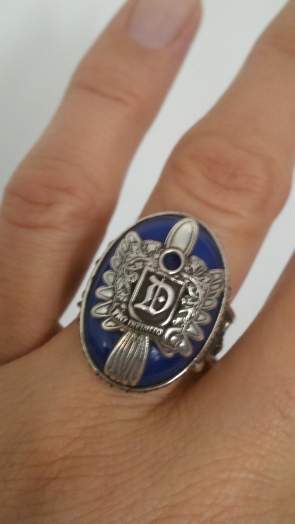 Damon's ring in all its mighty glory