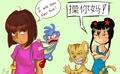 Dora vs. Kai-Lan