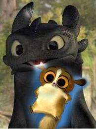 Drachen like lemur (izza tasty snack)