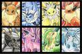 Eeveelution Card Art