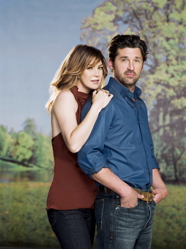 Ellen and Patrick's Photoshoot for TV Guide <3