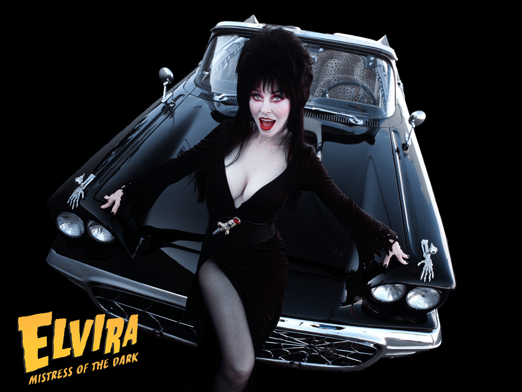 Elvira and her Macabre Mobile