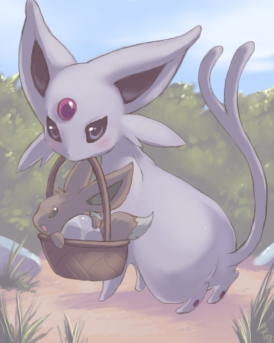 Eevee hình nền probably with a bouquet entitled Espeon