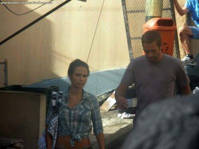 Fast 5 on set
