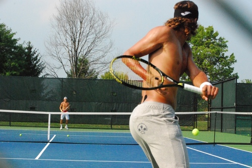 Feliciano Lopez hot پچھواڑے, گدا !!!!