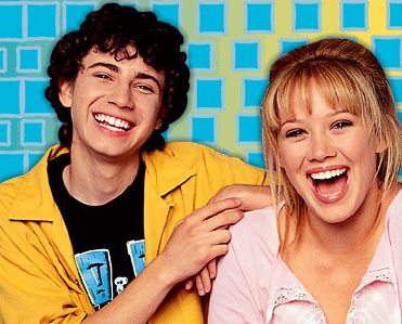 Lizzie McGuire wallpaper containing a portrait entitled Gordo and Lizzie