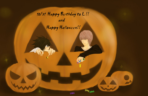 Happy Birthday to L!!! ~*~* [and Halloween too]