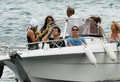 Henry Cavill Films on a Boat  - henry-cavill photo
