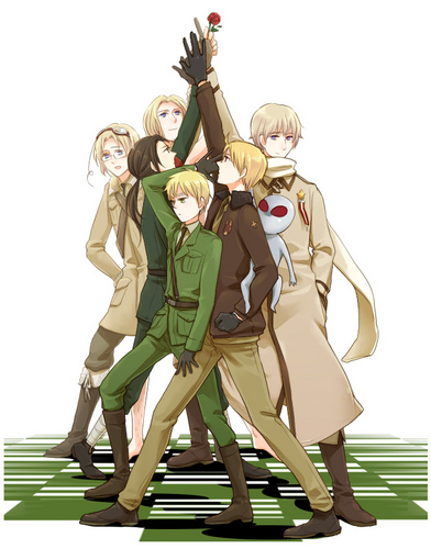 Hetalia Axis Powers - Incapacitalia Fanart