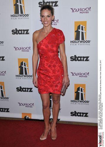 Hilary @ 14th Annual Hollywood Awards Gala - Arrivals