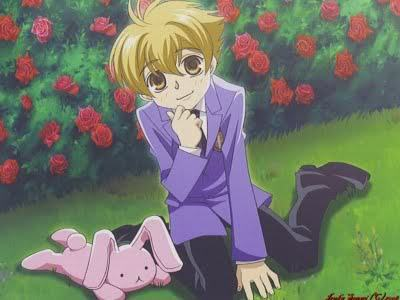 Ouran High School Host Club karatasi la kupamba ukuta probably containing anime called Honey Senpai