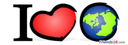 I love God's world <3
