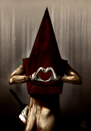 I love you 2 pyramid Head